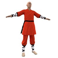 3ds max shaolin monk 1
