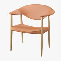 3d metropolitan chair model