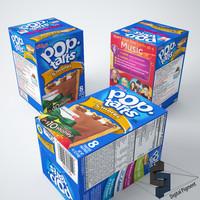 3d pop tarts smores model