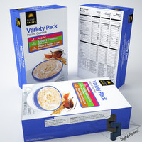 maya clover valley oatmeal box