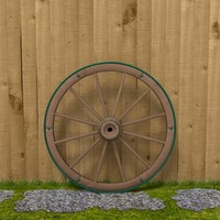 3d 3ds wagon wheel