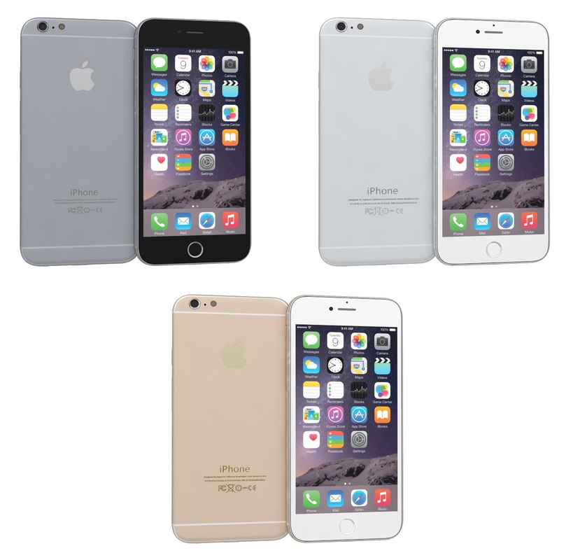 Image Gallery iphone 6 colours