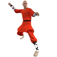 rigged shaolin monk 1 max