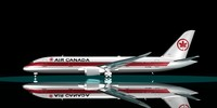 3d model of air canada 787-8 dreamliner