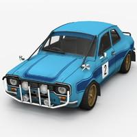 3ds max race car