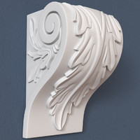 corbel decorative 3d model