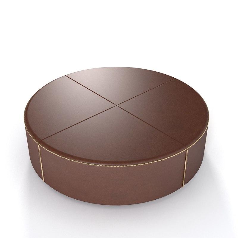 3ds max casamilano tabouret pouf. Black Bedroom Furniture Sets. Home Design Ideas
