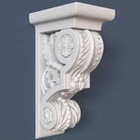 3ds max corbel decorative