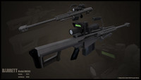 modern heavy sniper rifle max