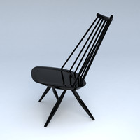 ilmari tapiovaara mademoiselle chair 3d model