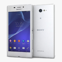 3d model of sony xperia m2 aqua