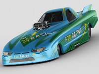 3d model custom dragster nhra funny