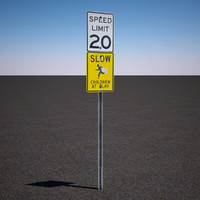 speed limit sign max