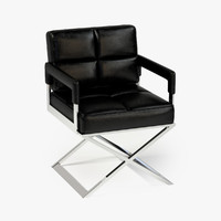 3d eichholtz chair desk cross model