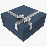 3d model gift box 6 1