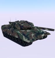 tank 3d obj