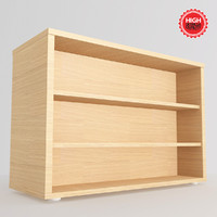 3ds bookcase bookshelf furniture