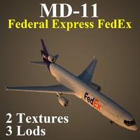 mcdonnell douglas fdx 3d model
