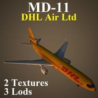 3d mcdonnell douglas dhl model