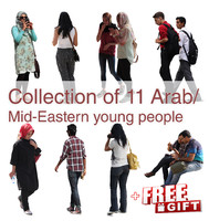 Arab Mid-Eastern Young Pepople Collection