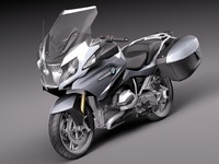 2014 bmw r 3d model