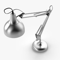 desks lamp 3d model