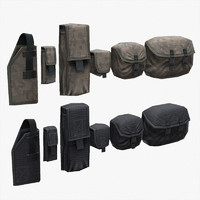 3ds max pouches tactical