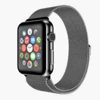 maya realistic apple watch