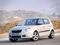 skoda fabia greenline car 3d 3ds