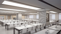 maya canteen interior scene