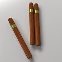 3d cigar cig model