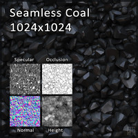 Cartoon Coal Texture