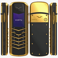 3d model vertu signature