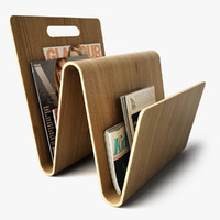 magazine rack 3d dxf