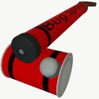 3d hand bug sprayer