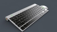 keyboard mouse 3d