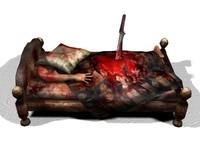 maya bed horror