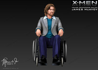 james mcavoy professor xavier 3d model