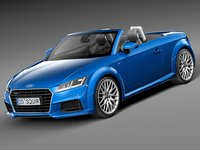3ds max 2015 roadster audi