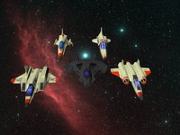 3ds max pack space fighter