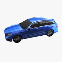 wagon c63 l2 3d model
