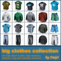 Modern clothes collection