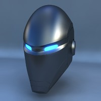 3ds max robot head e