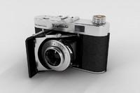 old camera 3d model