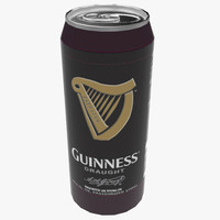3d guiness beer