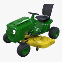3d ride mower