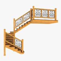 Wooden Interior Staircase