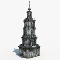 bell tower 3D models