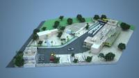 factory games 3d model