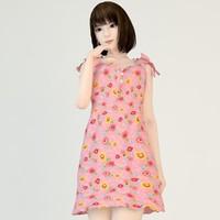 Mariko pink dress 02